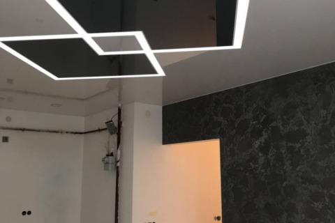 Led-лінії-підсвітка-натяжної-стелі